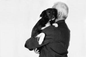 cane con padrone